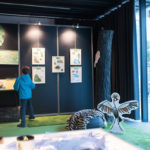 Photo expo Luis et titi Quai des Bulles